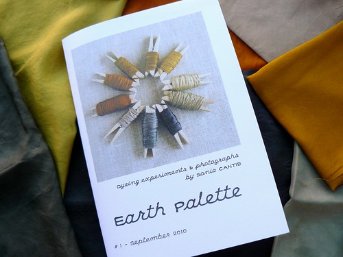 EARTH PALETTE zine - issue 1