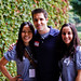 Lily, Josh Oaks, and Christine at WordCamp LA