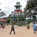 The clock tower in Kenema