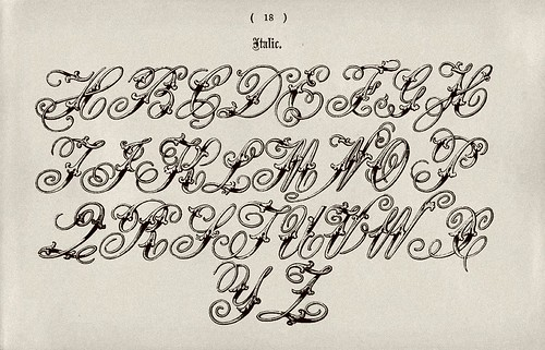 005-Alfabeto italico-Examples of Modern Alphabets… 1913- Freeman Delamotte