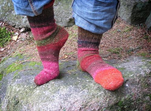 Silk Garden Socks