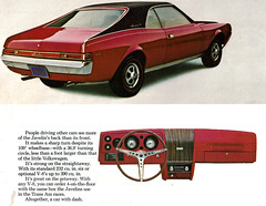 1969 AMC Javelin SST (coconv) Tags: auto old red art classic cars hardtop 1969 car wheel illustration truck vintage magazine advertising cards flyer automobile steering post antique album postcard board ad line tires motors advertisement vehicles dash card american postcards vehicle trucks dashboard autos collectible amc rambler collectors brochure coupe sst automobiles dealer prestige javelin