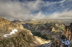 Clouds over the Beartooth - by tomkellyphoto
