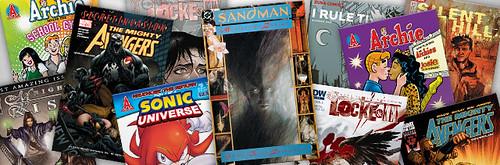 Digital Comics Store Update (15th September 2010)
