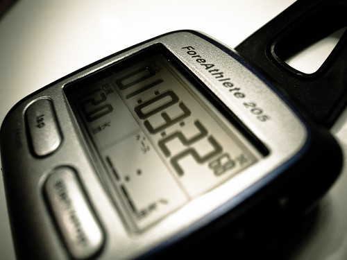 ForeAthlete205 12km 1h03m