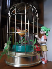 Yotsuba and the Music Box (redrickshaw) Tags: vintage toy object days 365 musicbox yotsuba projectone musicalbird