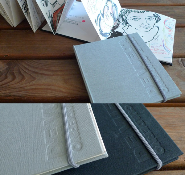 sketchbook handmade by choni