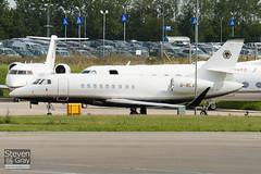 G-WLVS - 141 - Trinity Aviation - Dassault Falcon 2000EX - Luton - 100901 - Steven Gray - IMG_5630