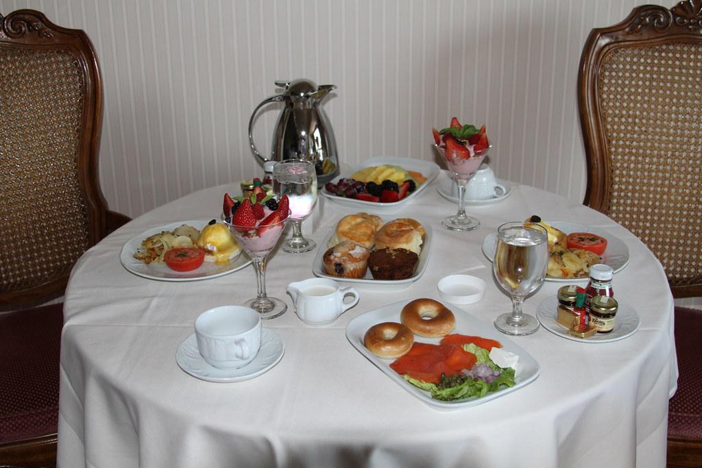 Breakfast - Little America Hotel Salt Lake City