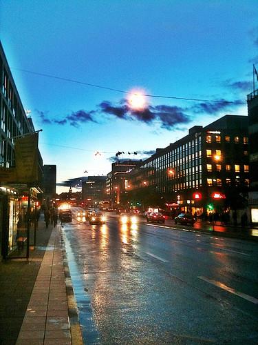 stockholm evening