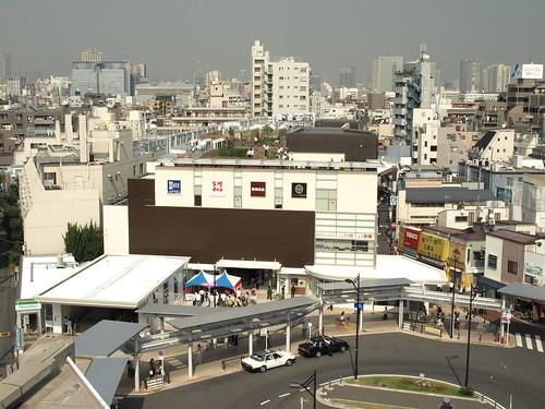 武蔵小山駅ビル全景