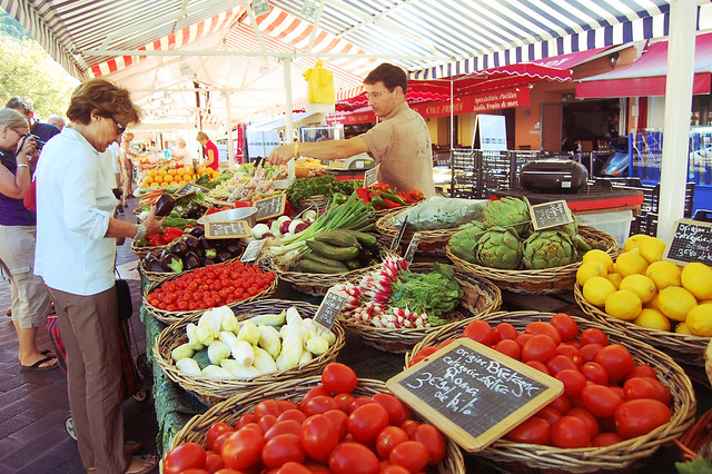 Market, Nice France