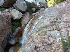 Entre la confluence Valdu Grande et la triple vasque-cascade : la 2ème cascade après la confluence