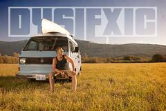 Dyslexic (Mike Folden) Tags: music sun bus grass vw photoshop photography glasses nikon farm hiphop rap d200 northbend dyslexic mikefolden bobbytamborine westfellia