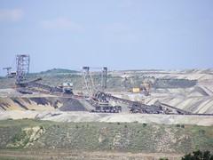 Bench Coal Mining