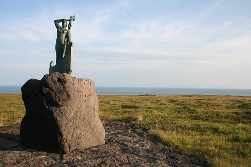 Laugarbrekka na Islândia