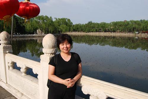 r87 - Chunlin on Yǒng'ān Bridge