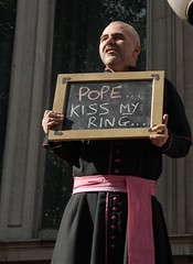Pope Kiss My Ring