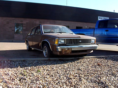 brown chevrolet car citation