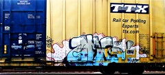 OMG (mightyquinninwky) Tags: rails tracks railroad railway railcar freight fr8 freightcar freightart railart trainart spraypaintart taggedrailcar paintedrailcar movingart rollingstock graf graff graffiti graphiti tag tags tagged nsf dts 1985 kat face character ttx ttxcom railcarpoolingexperts buffed buff stamp stamped reflectivetape steez steezy painteddoor paintedsteel boxcar boxcarart taggedboxcar paintedboxcar train omg gosh 11223344556677 carfireonflickr charactersformyspacestation
