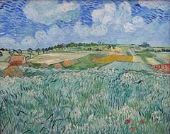 Vincent van Gogh: Plain close to Auvers (1890) (petrus.agricola) Tags: munich high close image vincent resolution van gogh plain neue pinakothek auvers
