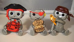 misc. pirate robots 5 (Sleepy Robot 13) Tags: wedding red sculpture black cute art robot colorful pirate kawaii weddings etsy caketoppers placesettings weddingcaketoppers robotpirate polymerclayfimosculpey sleepyrobot13 piraterobots
