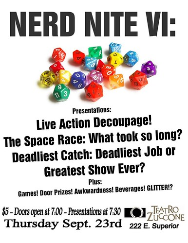 Nerd Nite VI: City Under Seige