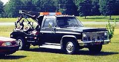 1982 Chevy Wrecker (boisblanc1954) Tags: auto classic ford chevrolet car truck vintage junk rust decay parts engine hudson hornet junkyard wrecker