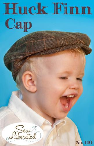 huck finn cap sewing pattern front