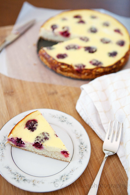 Lemon Blackberry Kuchen