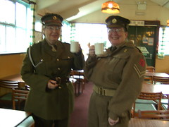19th Sep 2010 003 (I Poper) Tags: camp cup smile hat museum army women mess stripes military 1940s canteen uniforms afmc britisharmy barracks edem reenactors cupoftea wartime ats antiaircraft powcamp royalartillery naafi womeninuniform servicedress battledress prisonerofwarcamp edencamppickering 19thsep2010 italianpowcampwwii italianprisonerofwarcamp germanprisonerofwarcamp wwiiarmycamp
