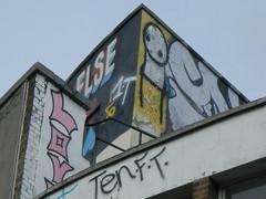 Stik & 10 foot & (Sa//y) Tags: streetart london art graffiti urbanart shoreditch spraycan stik 10ft 10foot