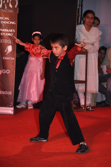 I can move really quick - a young talent at the Magarpatta City Ganesh Festival