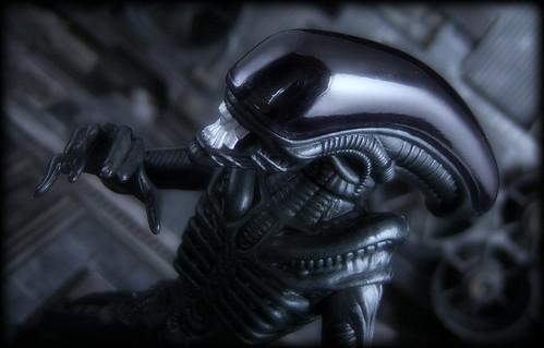 Kenner Aliens vs Predator - Warrior Alien