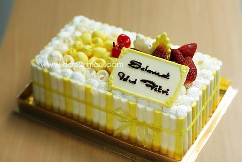 Lemon Cake Idul Fitri