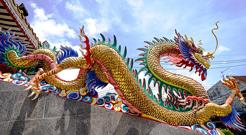 Chinese Dragon at Sapam Shrine