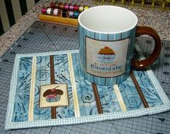 """""""Chocolate"""" Mug Rug"""