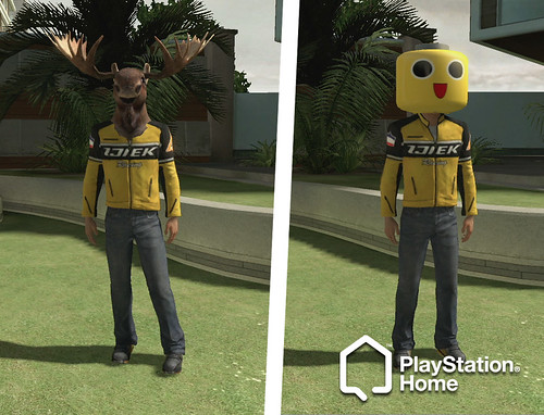 PlayStation Home: Dead Rising 2 costumes