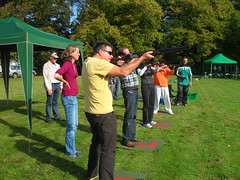 Laser Clay Shooting hire North east