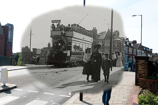Looking Into the Past - Teddington c. 100 years ago