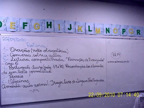 Rotina Prevista - 22/09/2010