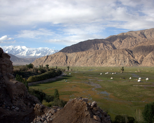 Tashkurgan River Delta Meadow