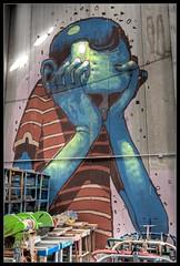 ARYZ III (Romany WG) Tags: barcelona street urban art graffiti mixed media outsider crew granollers butnotnow usedtobeabandoned
