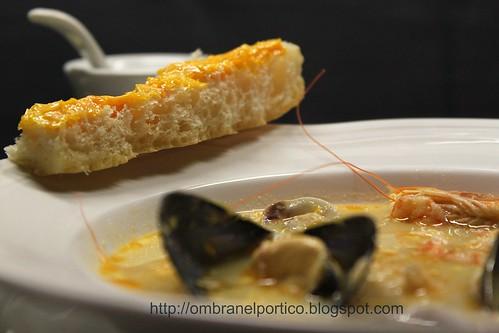 Zuppa di pesce (in bianco)