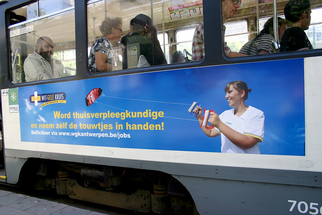 WGKA Antwerpen Tram Advertisement 1-14 September 2010