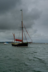 Norfolk sail boat