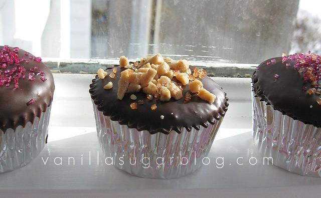 Barefoot Contessa Chocolate Ganache Cupcakes