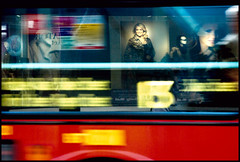 London Bus Reflections