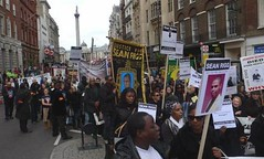 Moving down Whitehall - Justice4Paps
