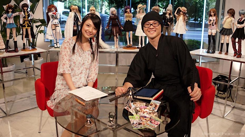 カルチャージャパン第1と2話スタジオ収録風景